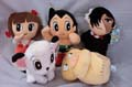 Astro Boy Black Jack Kimba The White Lion Set Of 5 Soft Toys