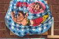 Astro Boy Boxer Shorts Flying With Uran