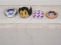 Astro Boy Badges Uran Pin Set of 4