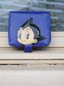 Astro Boy Coin Purse Blue Square Format