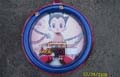 Astro Boy Car Steering Wheel Cover Blue