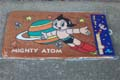 Astro Boy Door Mat Extra Large Orange Classic