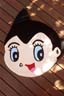 Astro Boy Head Bathroom Floor Mat