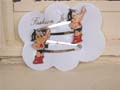 Astro Boy Hair Clips I Am Strong Set Of 2