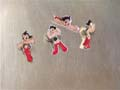 Astro Boy Pins Classic Set Of 4