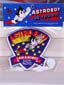 Astro Boy Patch Flying Vintage 1980's