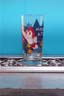 Astro Boy Soft Drink Glass Flying 1998