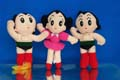 Astro Boy Set Of 3 Baby Soft Toys