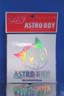 Astro Boy Sticker Silver Small
