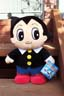 Astro Boy battery operated walking soft toy