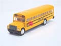 GMC S6000 Golden Mango School Bus Vintage