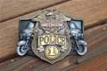 Harley Davidson Belt Buckle Police 1 Version