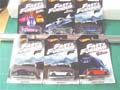 Hot Wheels 2018 Fast And Furious Set Of 6 Diecast Cars