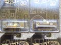 Hot Wheels 50th Anniversary Black And Gold Set Of 7 Diecast Cars