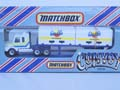 Matchbox Convoy Scania Double Container Walls Ice Cream