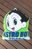 Astro Boy cushion green