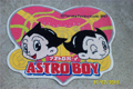 Astro Boy door mat pink heart shape