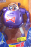 Dragon Ball Z battery operated figurine big blue robot